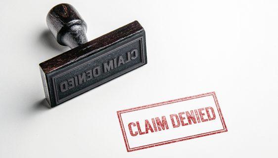 Claime denied