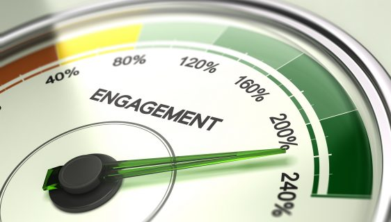 Employee or Company Engagement Concept